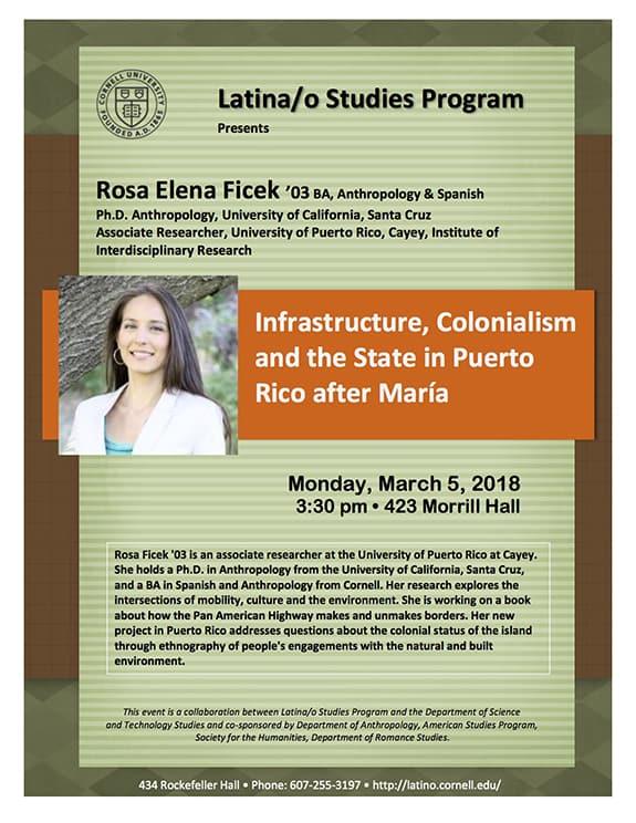 Alumna explores Colonialism in Puerto Rico in aftermath of Maria